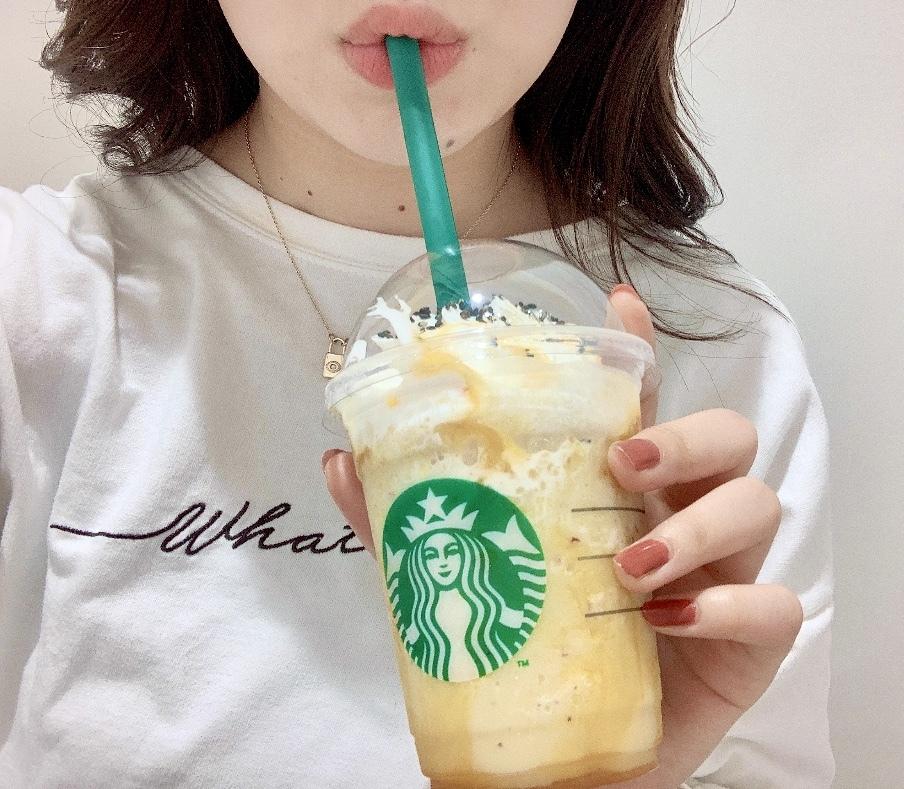 【スタバ】飲む大学芋とは!?新作フラペチーノレポ!!_1_4