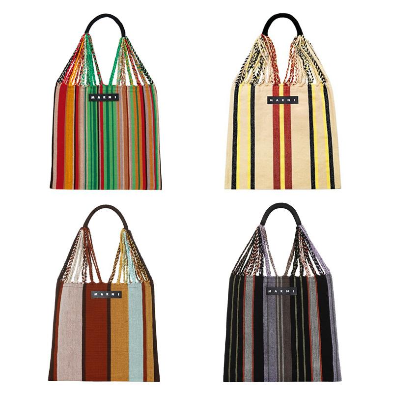 マルニの新色ハンモックバッグ