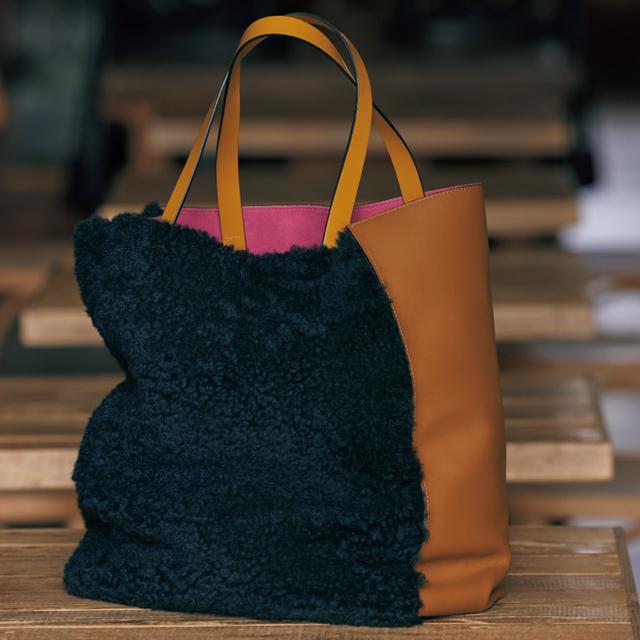 マルニ バッグ「MUSEO BAG」(40×33×16)¥196,000/マルニ 表参道(マルニ)