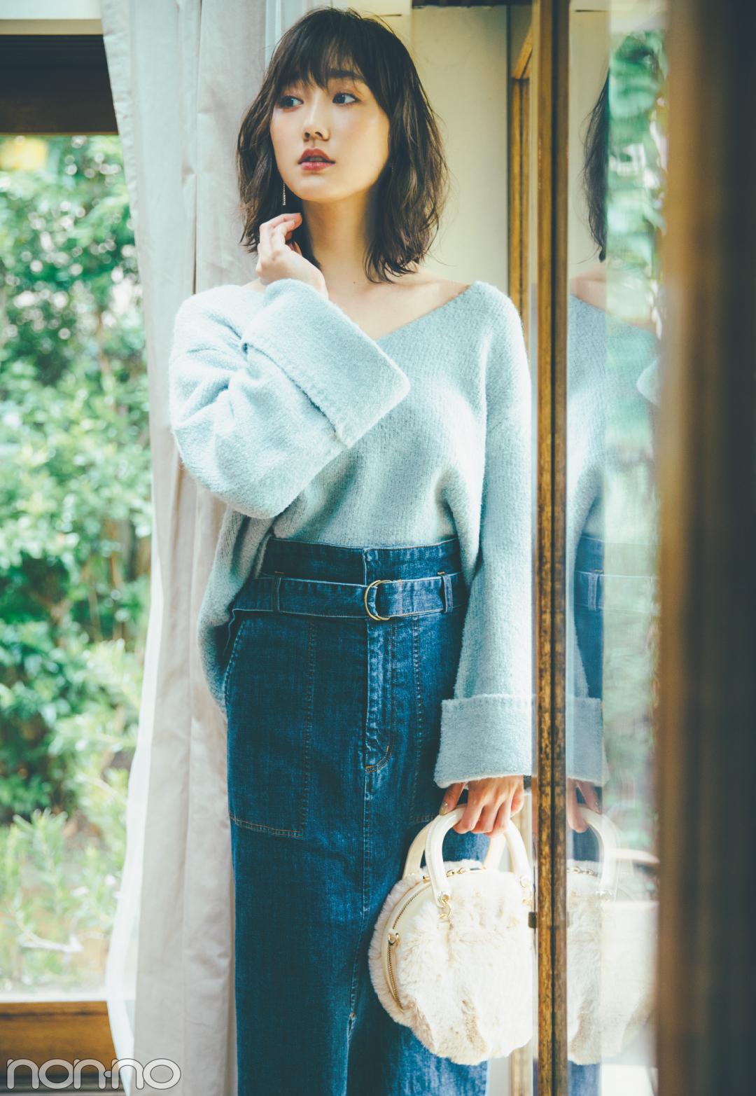 着るだけで盛れる♡ 袖コンシャスな女っぽニット4選!_1_2