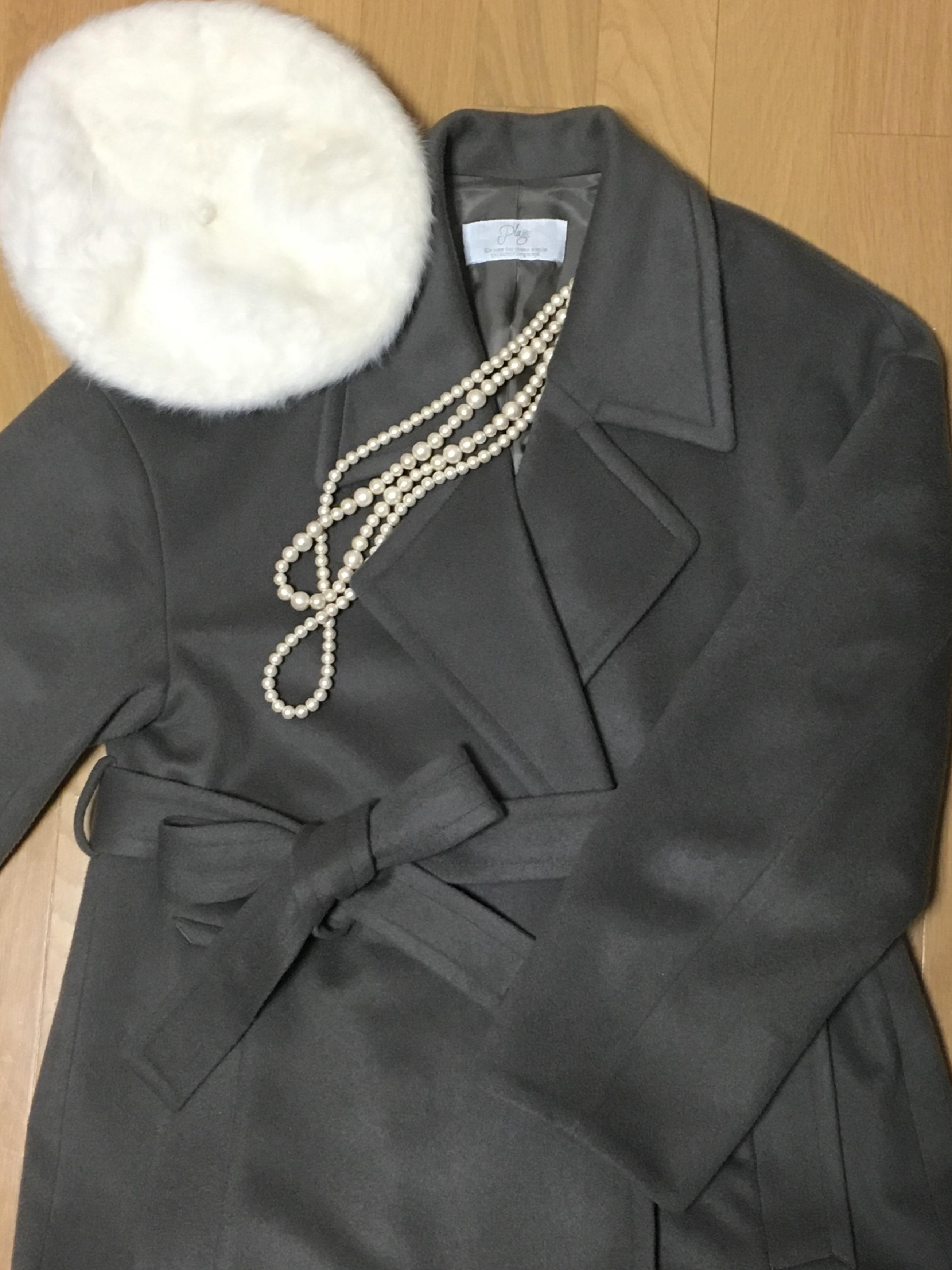 Plageのロング丈コートで冬を乗り切る_1_3