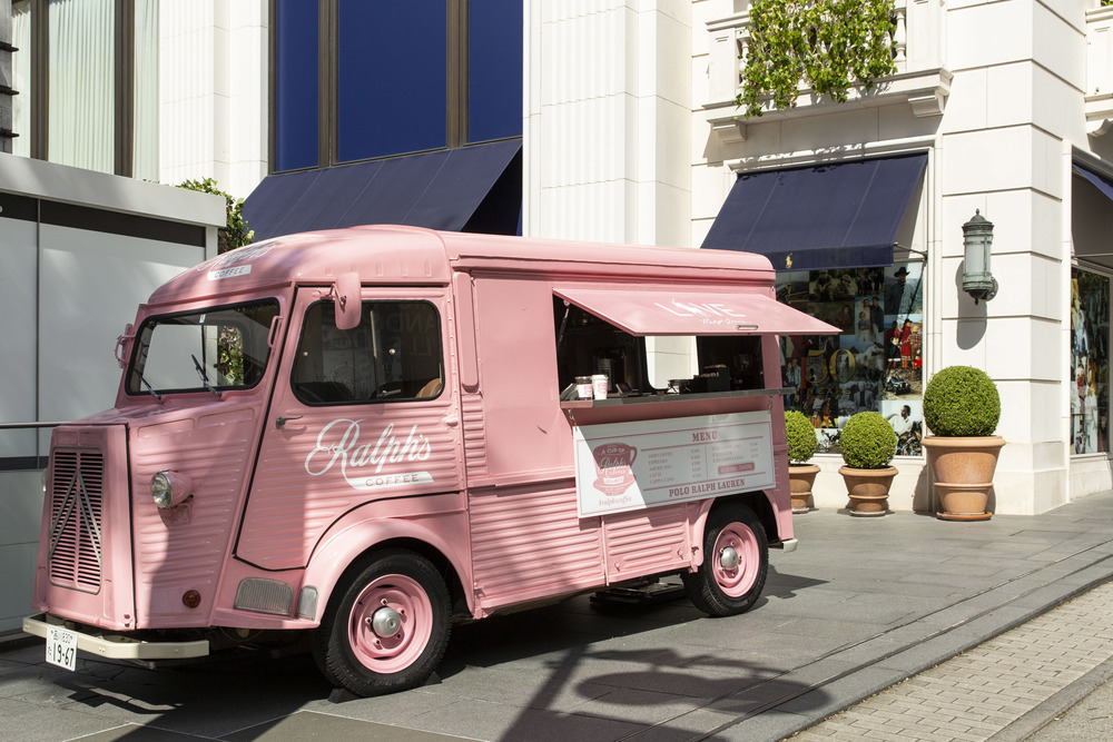 ファッション ラルフ ローレンのピンク ポニー キャンペーン