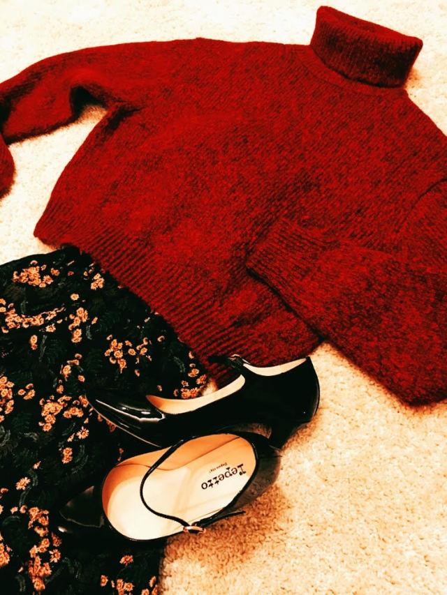 ファッション ユニクロのざっくりセーター