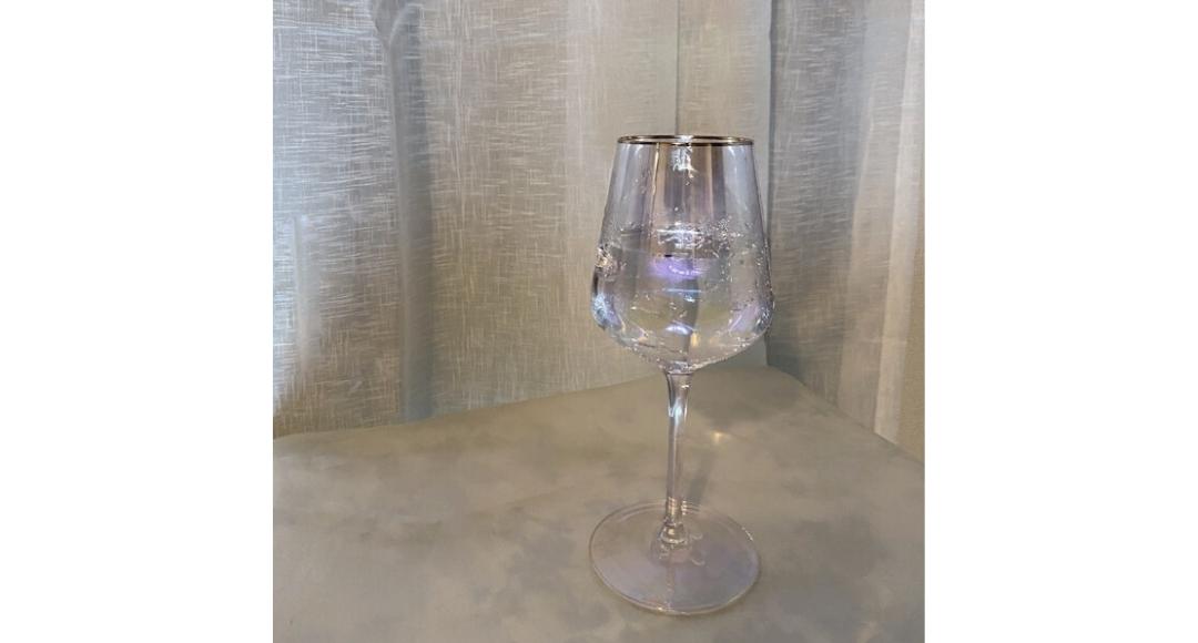Francfranc(フランフラン)のオーロラが美しいオパールグラス