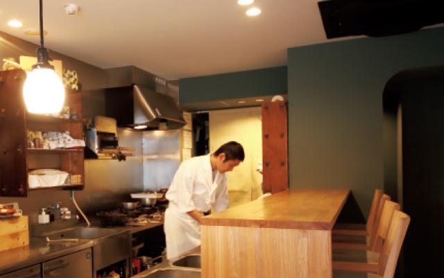 京都の五条にある和食レストラン「喜多」の店主北さん