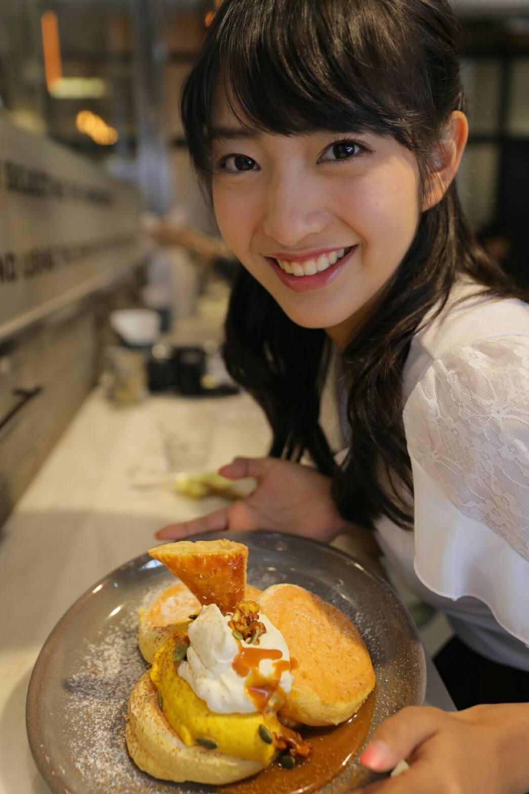 ふわふわ♡ハロウィン限定『奇跡の』パンケーキ(*´꒳`*)_1_3