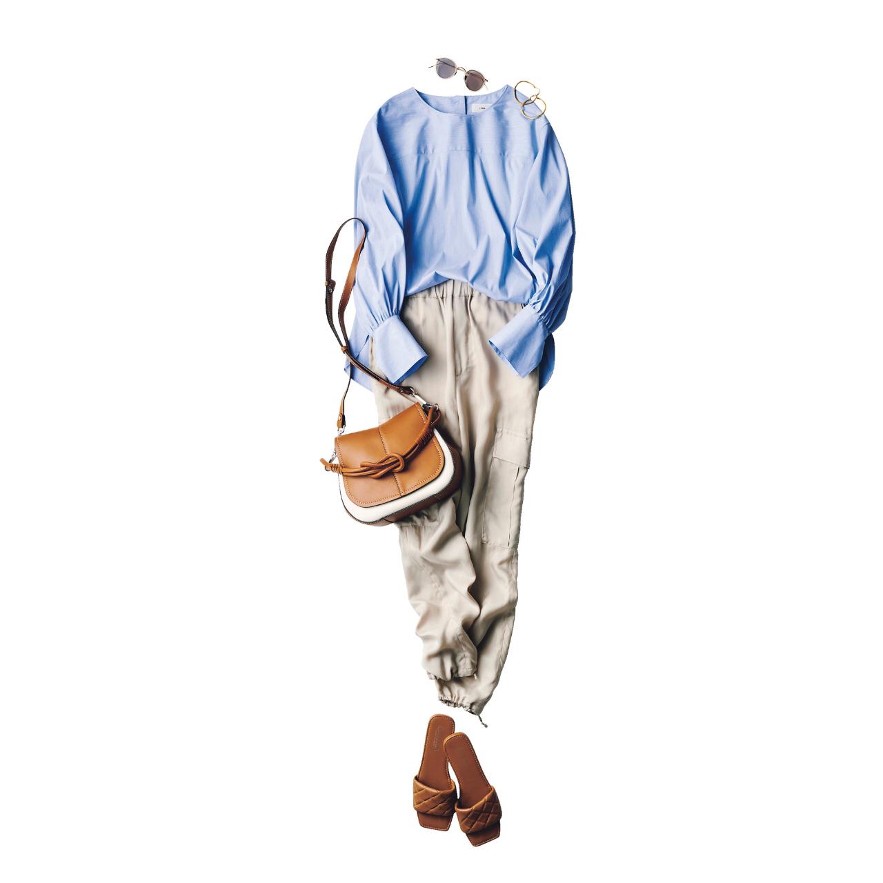 【夏に映えるブルーコーデまとめ】アラフォーが上品かつこなれて見えるコーデのポイントとは? |40代ファッション_1_11