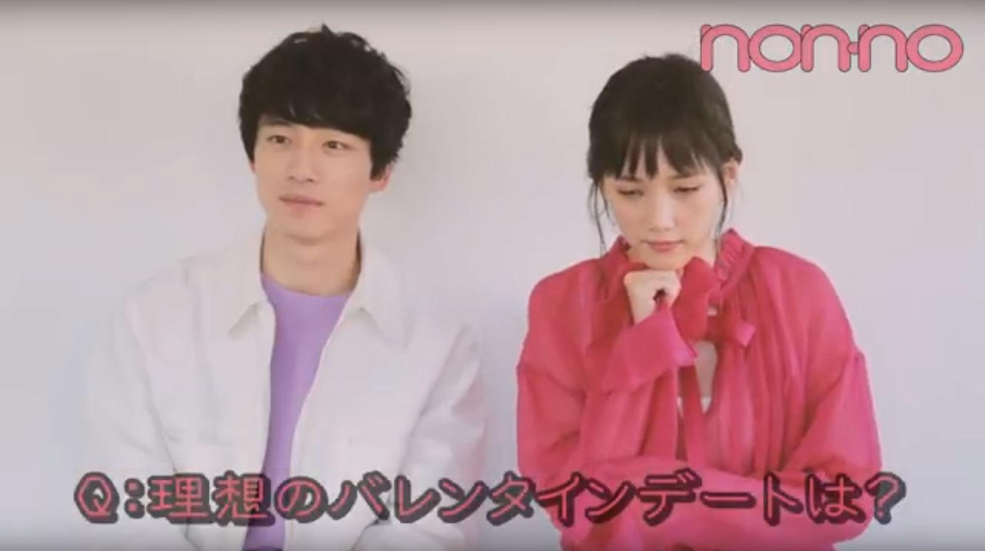 Web限定! 本田翼×坂口健太郎♡ 2018年バレンタイントーク_1_1-1
