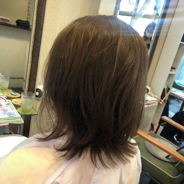 伸ばしかけヘアをくびれヘアスタイルですっきりと!_1_1-2