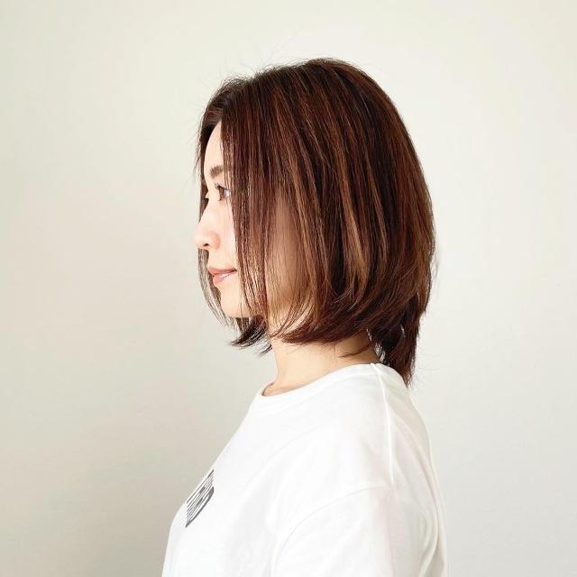春夏最新!アラフォーくびれボブスタイル【tomomiyuヘア】_1_8