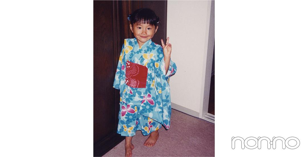 堀田真由8歳