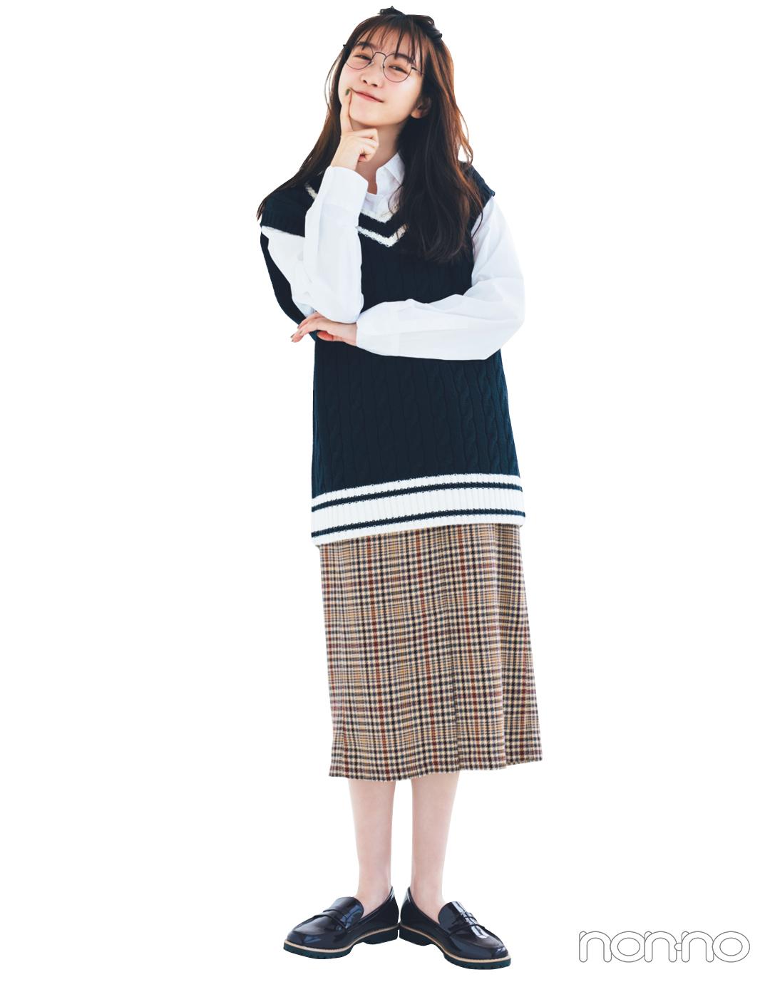 GUの秋新作スカートが神! 1990円で7通りに着回せる★_1_4-5