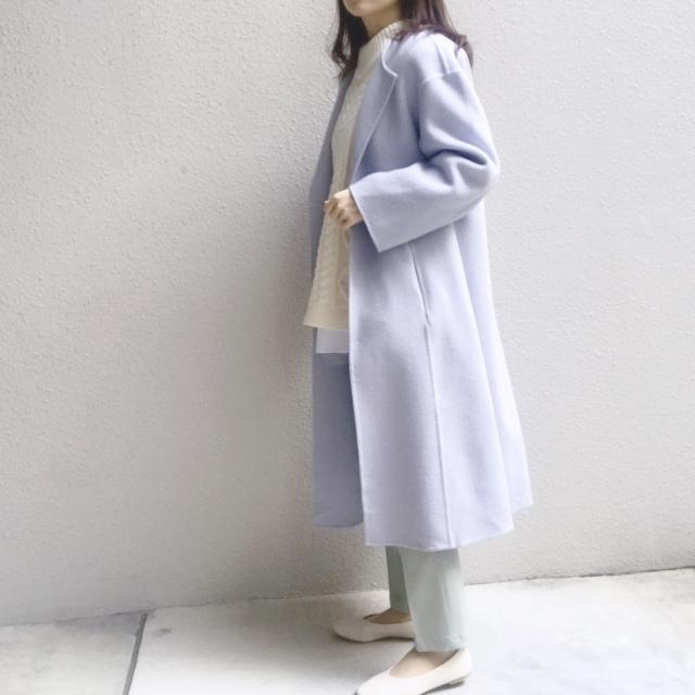 #ユニクロ 穿く度に良さを実感するパンツで春のきれい色コーデ_1_3