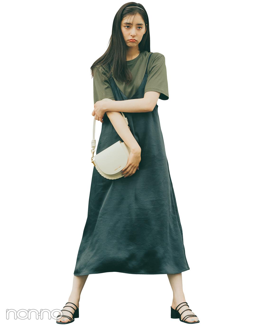 『新木優子』の『キャミワンピ』モデルカット7−3