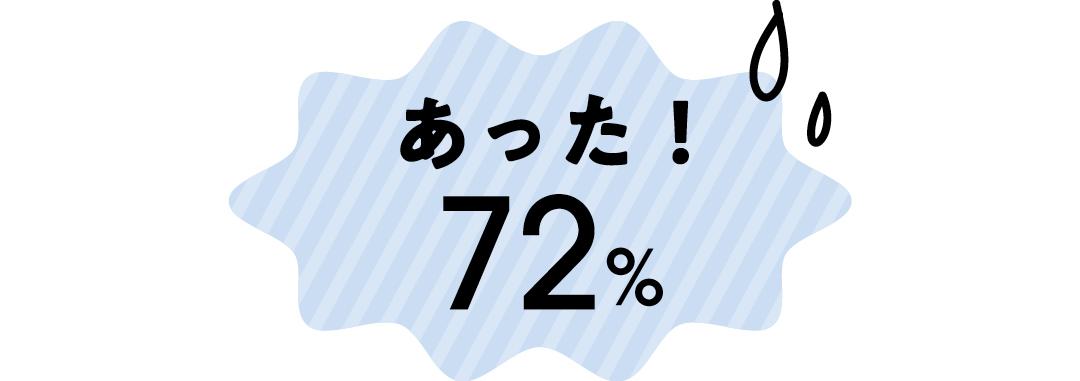 あった!:72%
