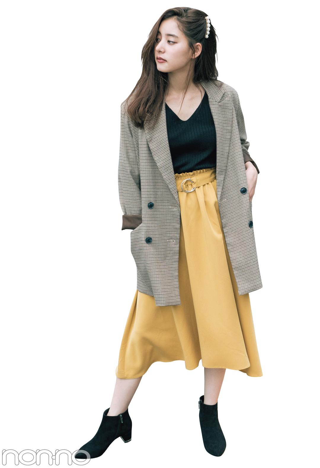 新木優子のトレンドコーデ♡ 秋の「ジャケット」は10倍可愛く着回せる!_1_2-3