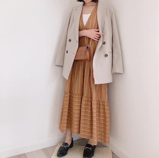 やってみたかった配色♡【momoko_fashion】_1_4-2