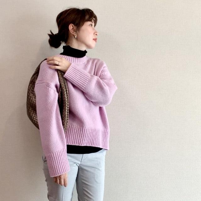 セーターのチクチクは、レイヤードで解決!でもインナー選びは?_1_1
