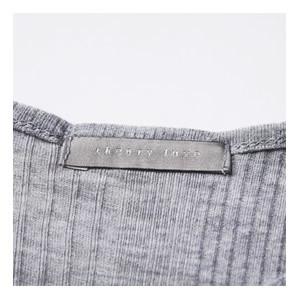 【Point1】高級感のある織ネームタグ