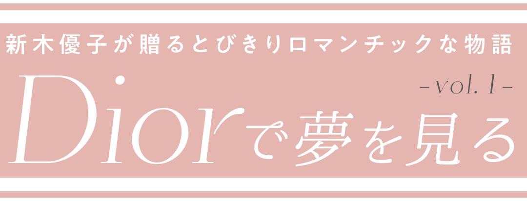 Diorで夢を見る