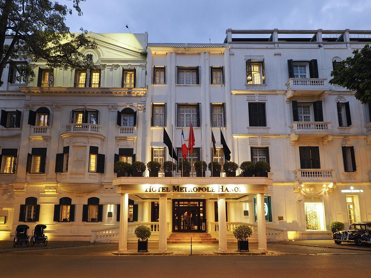 ハノイの真珠と絶賛される優雅なホテル、メトロポール_1_1