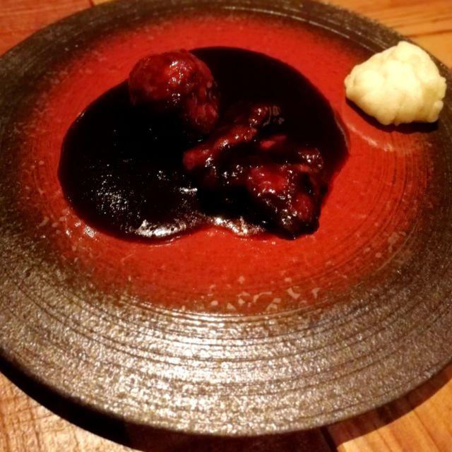 黒酢の酢鴨