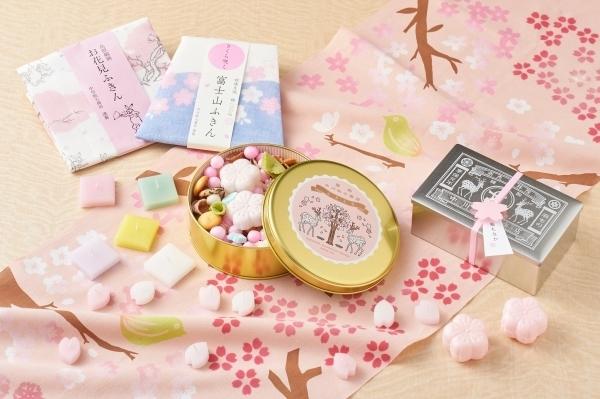 春を愛でる桜モチーフアイテム
