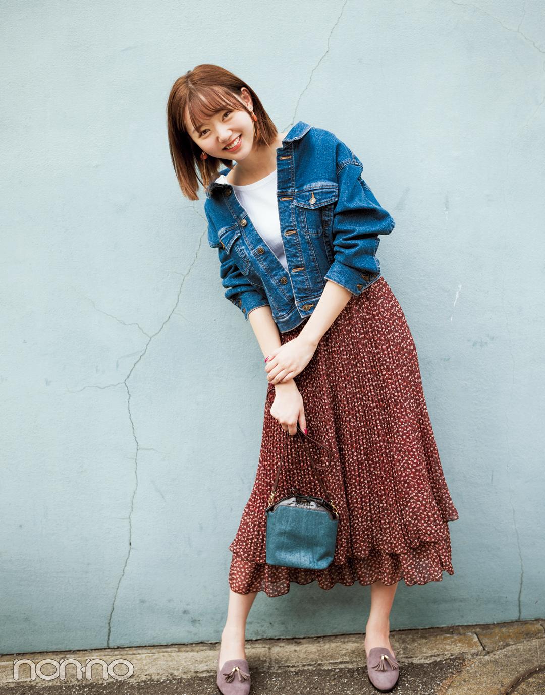 この秋大ブーム! ヴィンテージ風花柄スカート、買うならコレ♡ _1_2-2