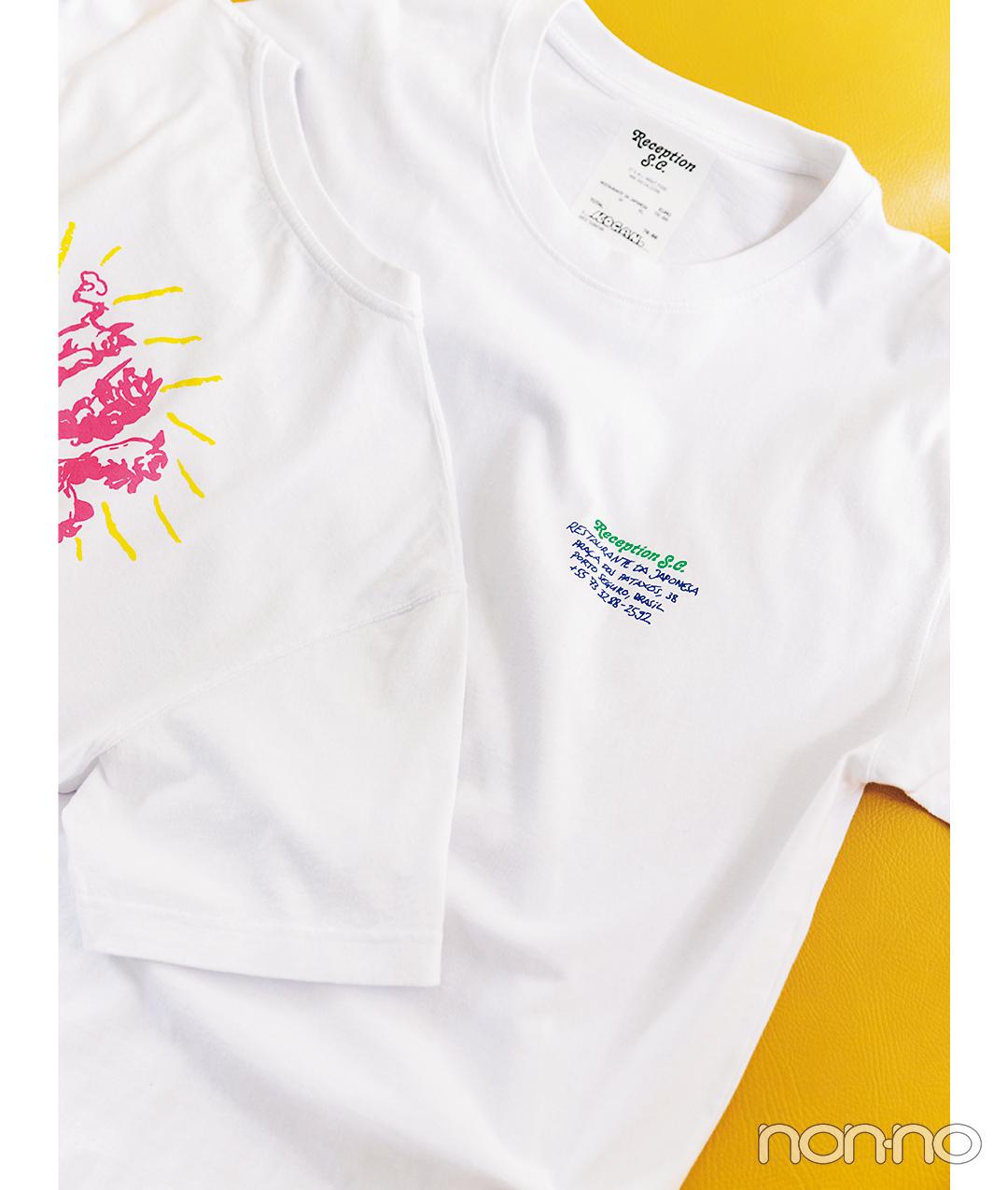 ReceptionのショップTシャツ