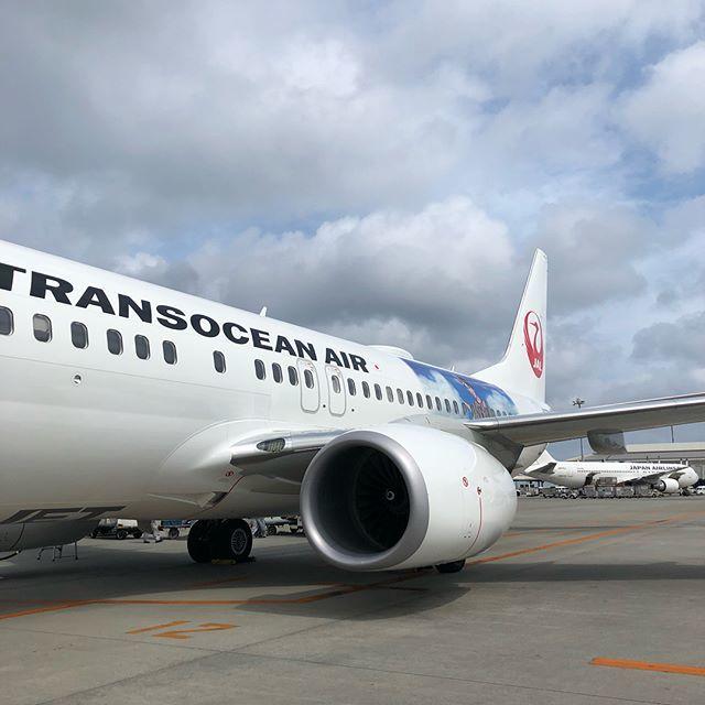 石垣島から那覇行きの飛行機が、まさかのAMURO JET♡_1_3