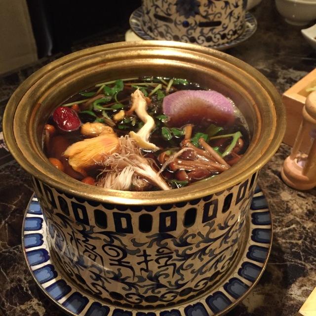 【レストラン】きのこ鍋/Shangri-La's secret_1_4