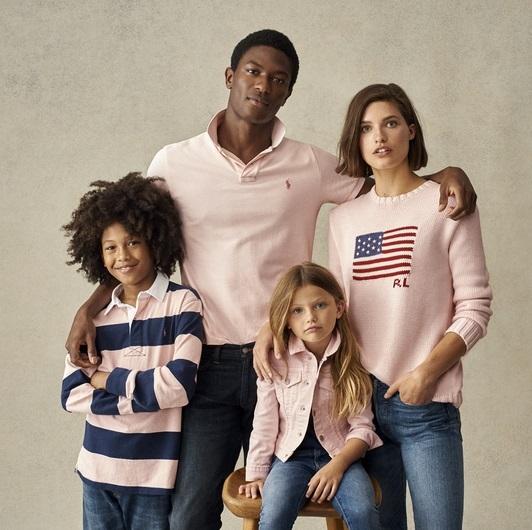 ファッション ラルフローレンのピンクポニー キャンペーン