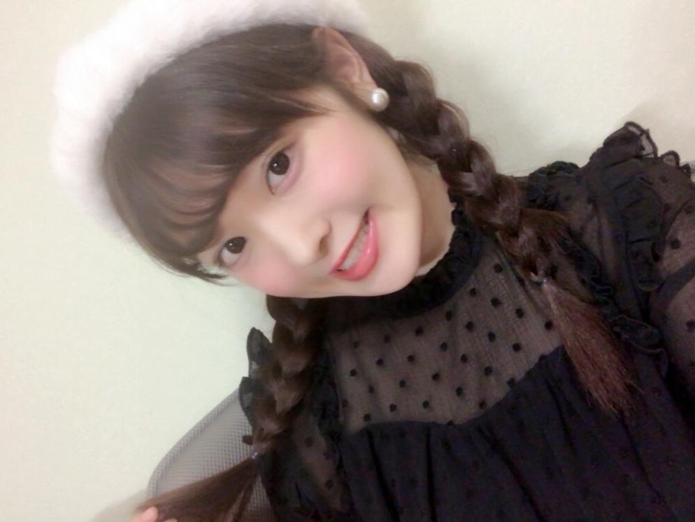 ベレー帽deヘアアレンジ♡_1_1
