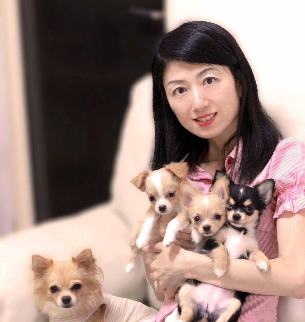 愛犬が子供3頭産んでくれました。感謝。