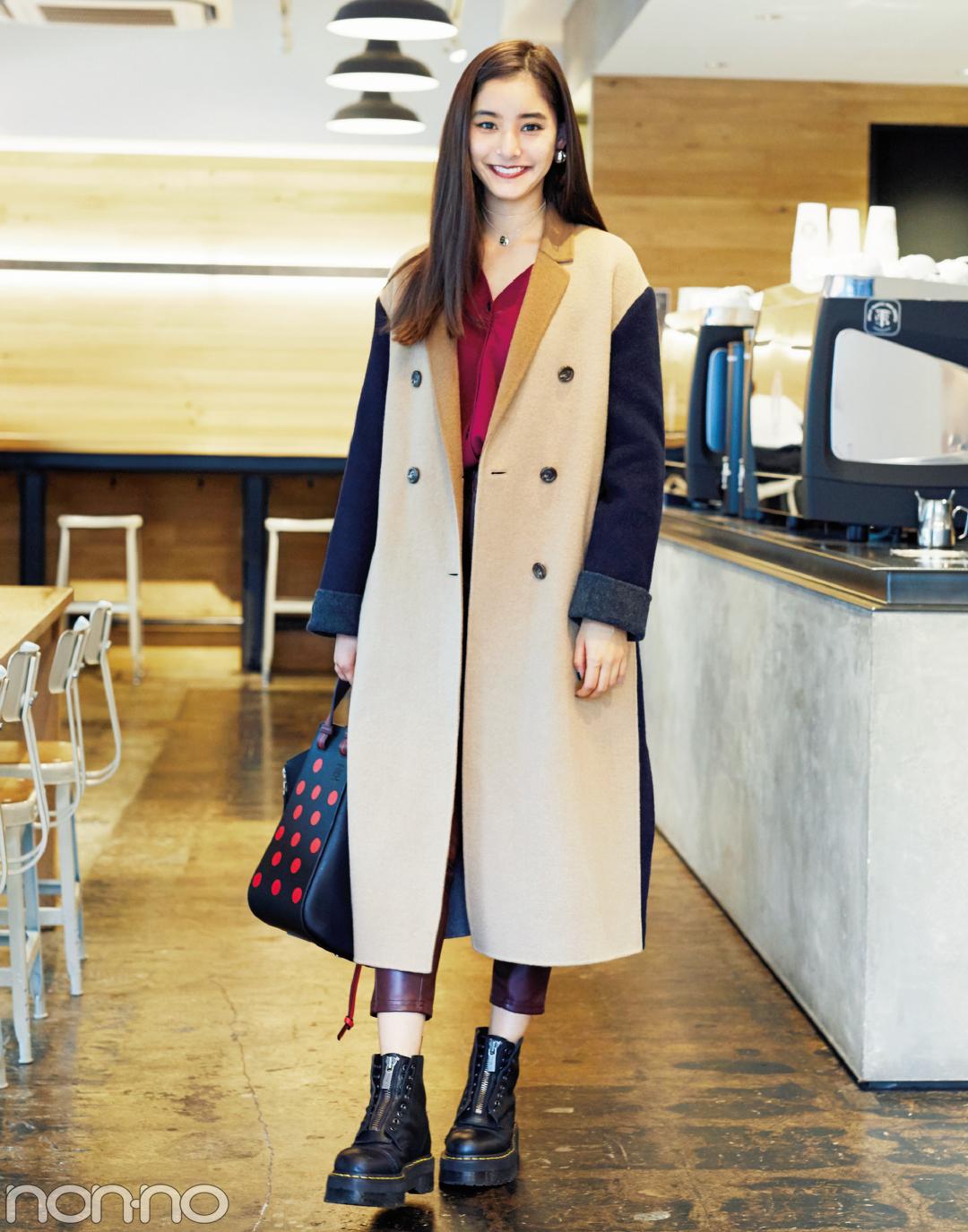 ファッションモデルの新木優子