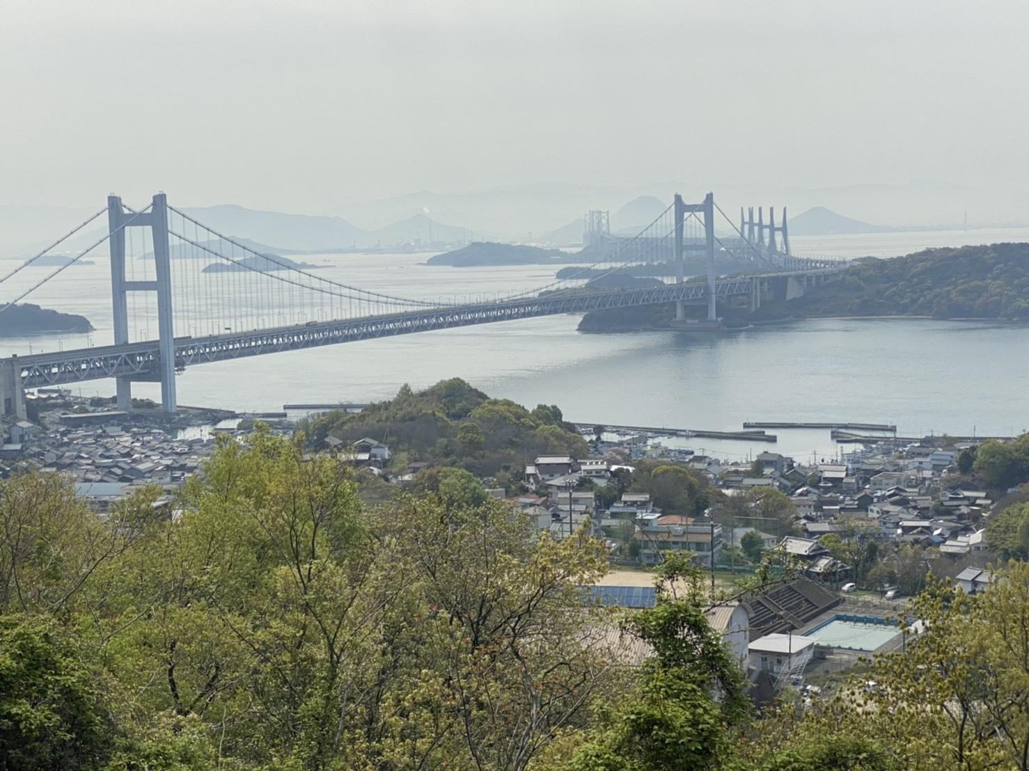 瀬戸大橋 展望台から全体の画像