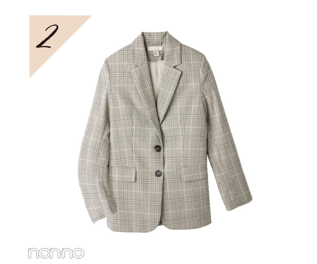 【水曜日】新川優愛はチェックのジャケットでちょい大人コーデ♡ _1_3-2