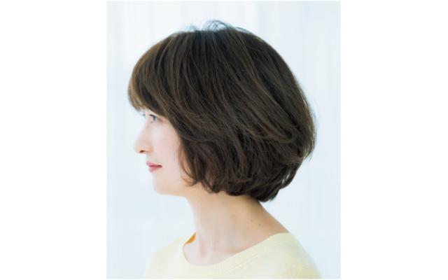 おろし前髪のサイド