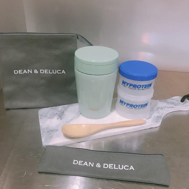 DEAN&DELUCAランチバッグとカトラリーケース♡_1_4-1