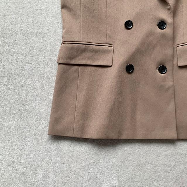 GU ダブルブレストテーラードジャケット