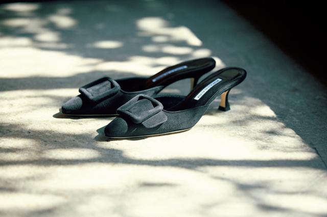 MANOLO BLAHNIKの靴