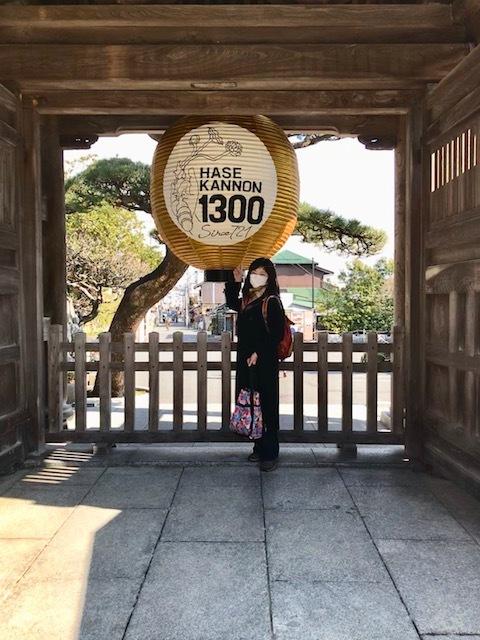 長谷寺山門の提灯