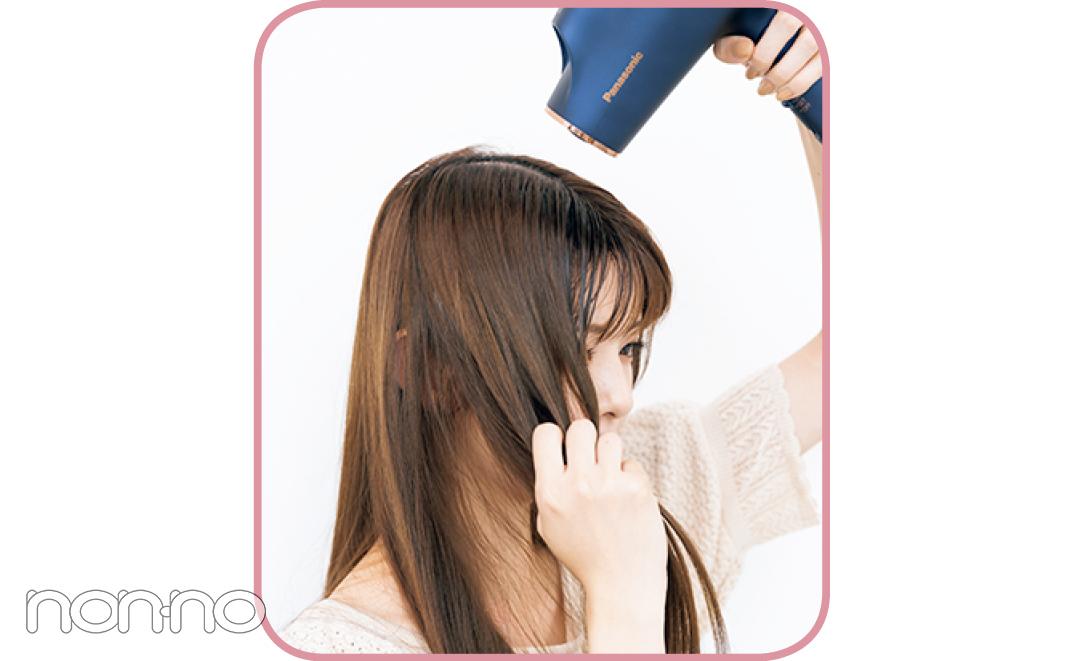 鈴木ゆうかの真夏の髪管理バイブルプロセスカット5-2