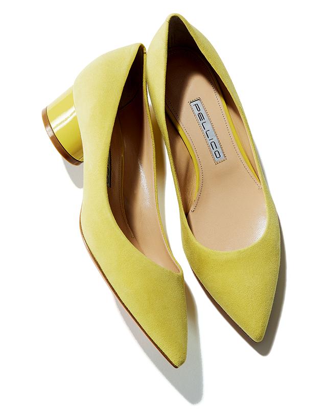 「足もとに色」が今年のトレンド! 春のおしゃれはきれい色の靴から_3_1-2
