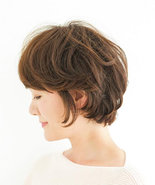 前、横、後ろ、全方位美人なショート【40代のショートヘア】_1_1-2