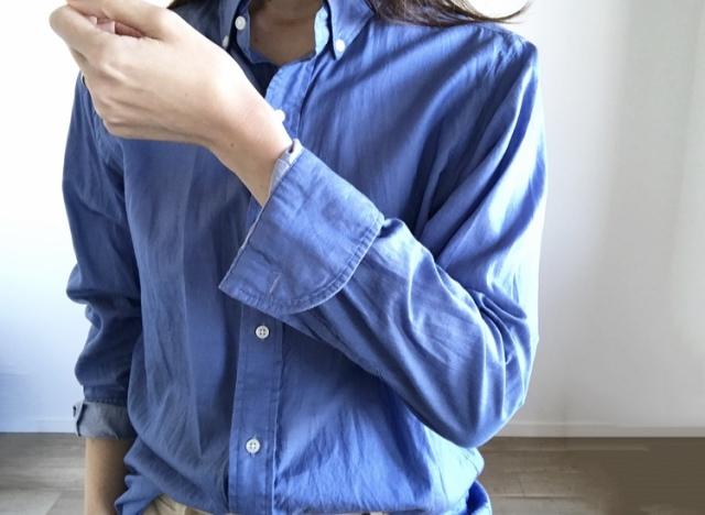 春本番 こなれたシャツの着方をご紹介【40代 私のクローゼット】_1_4-1