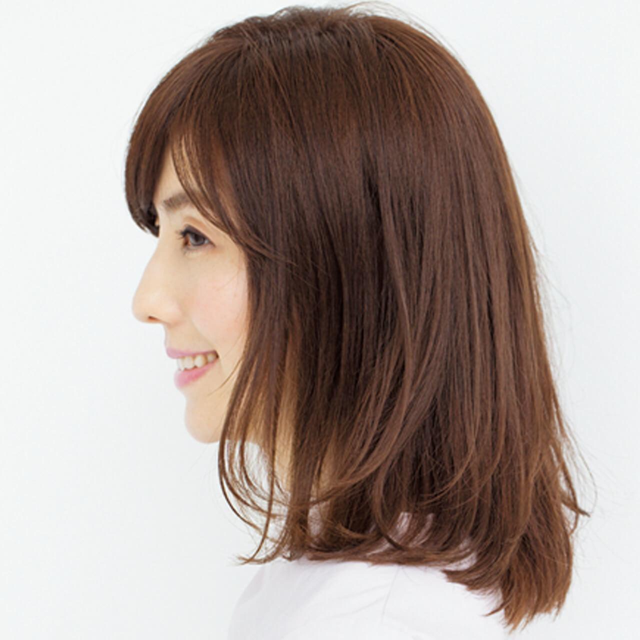スッキリ見える外ハネの動きで髪の重さから目をそらして【40代のボブヘア】_1_2