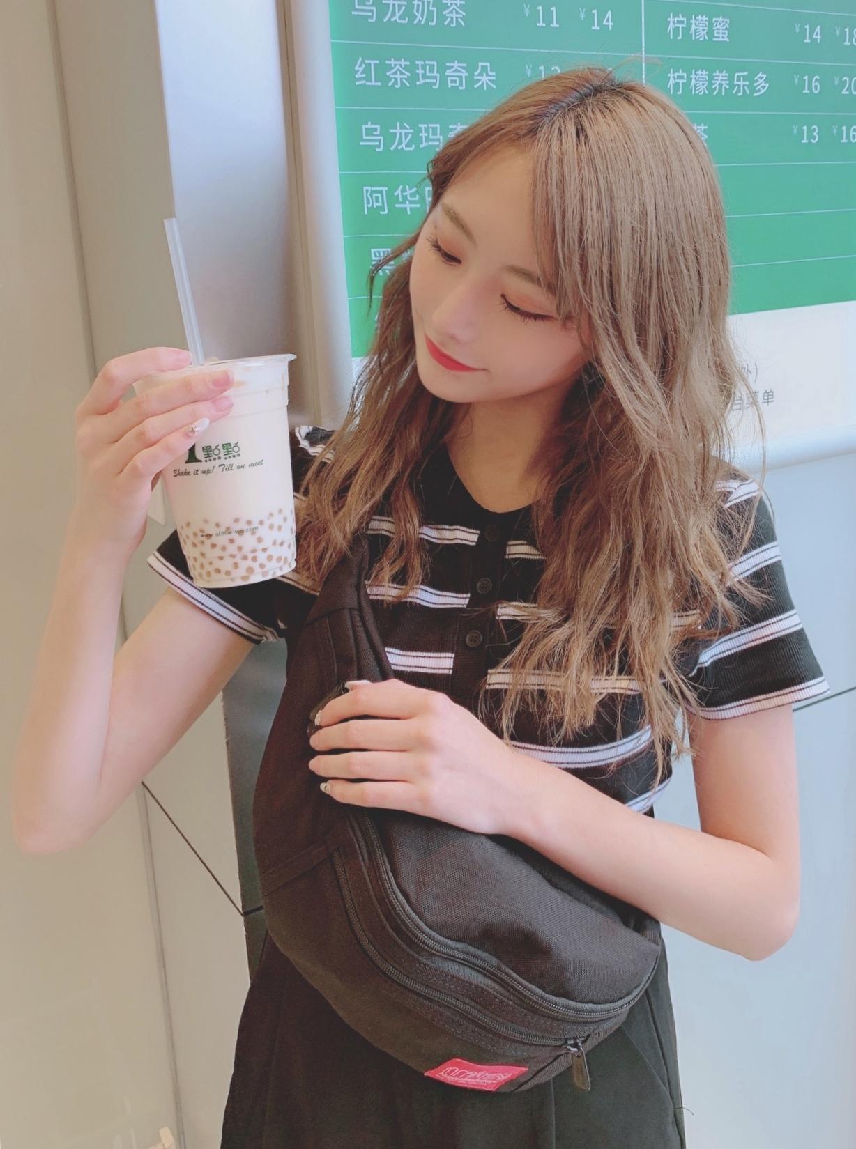 日本未上陸!1㸃㸃のタピオカが美味しすぎる♡@上海_1_1