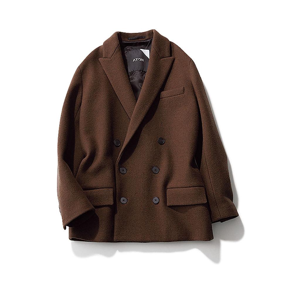 ファッション メルトン素材のジャケット
