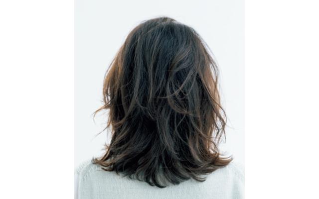 生えグセをカバーする前髪パーマ